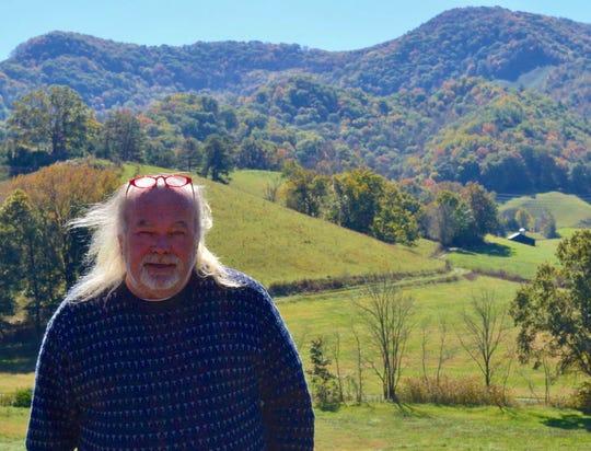 Waynesville artist Richard Baker, owner of Balsam Ridge Gallery.