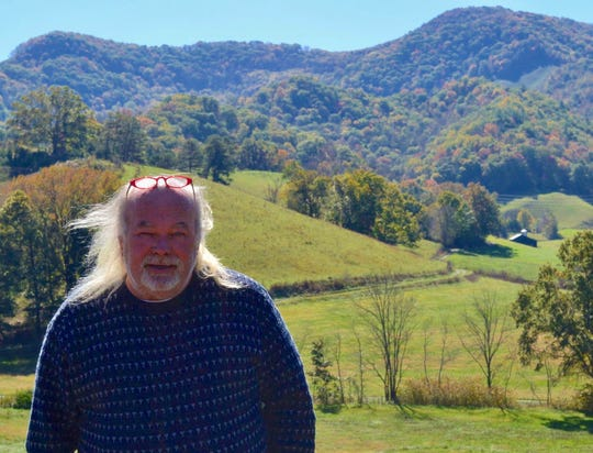 Waynesville artist Richard Baker, owner of Balsam Ridge Gallery.