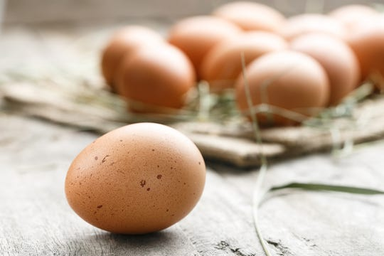 fresh organic farm eggs