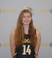 SUNY Broome freshman Anna Hotalen.