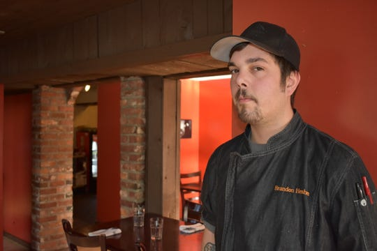 Brandon Hesher gradually has been putting his stamp on the menu at his Bistro at LakeLand Village.