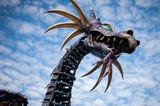 """In May 2018, """"Sleeping Beauty"""" dragon float caught fire at Disney World. Maleficent's back in full dragon form, complete with new safety features"""