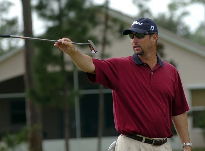 Former Boston Red Sox pitcher Tim Wakefield is no stranger to the golf course.