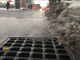Rain and melting slush drain down Bank Street in Burlington on Thursday in the wake of Winter Storm Harper. Photographed Jan. 24, 2019. The city's main wastewater treatment plant successfully absorbed the influx — which more than doubled the system's normal flow.