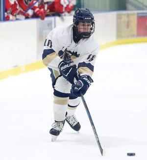 Essex boys hockey player Charles Wiegand.