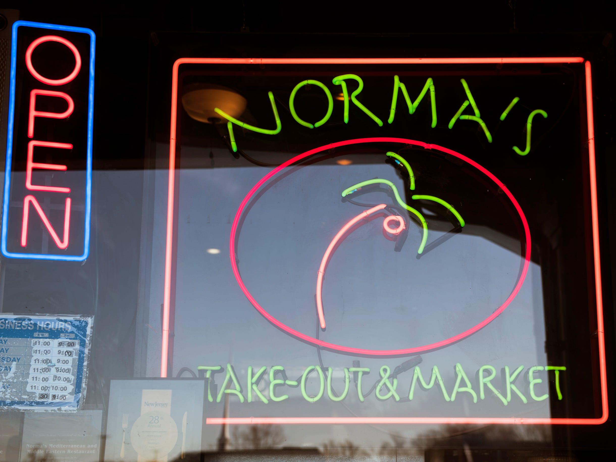 Norma's Eastern Mediterranean Cuisine in Cherry Hill.