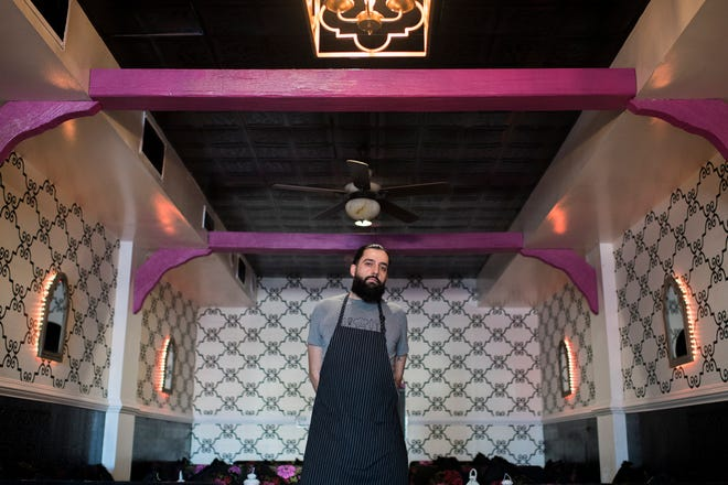 Elias Bitar of Norma's Eastern Mediterranean Cuisine in Cherry Hill.