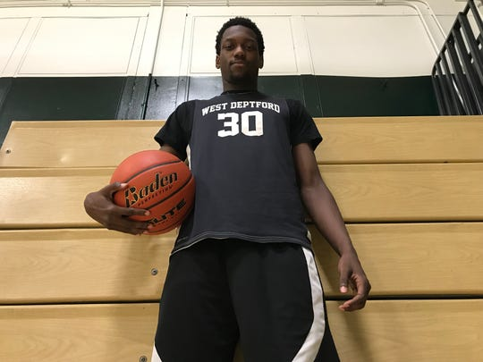 West Deptford senior Elijah Malloy has helped the Eagles get off to a strong start this season after missing all of his junior year.