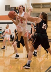 Waverly girls basketball defeated Portsmouth West 56-42 behind Kami Knight's 24 points, eight rebounds.