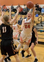 Waverly girls basketball lost to Washington Court House 72-36 on Wednesday.