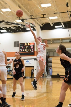 Waverly's Kami Knight committed to playing college basketball for Cincinnati Christian University this week.