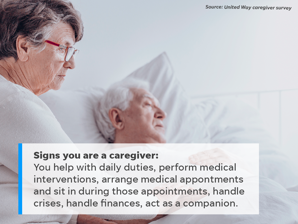 Not sure if you're a caregiver? Here are some signs.