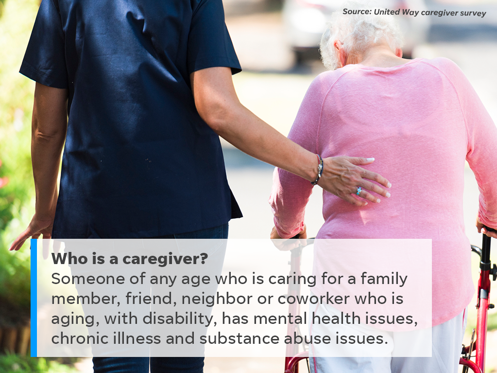 Here's who is considered a caregiver.
