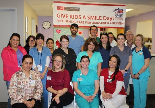 The 17th Annual Give Kids a Smile Day. will be held from 8 a.m. to 4 p.m. on Feb.1 atRobert Wood Johnson University Hospital in New Brunswick.