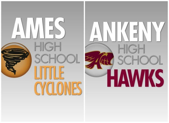 Ames and Ankeny high schools.