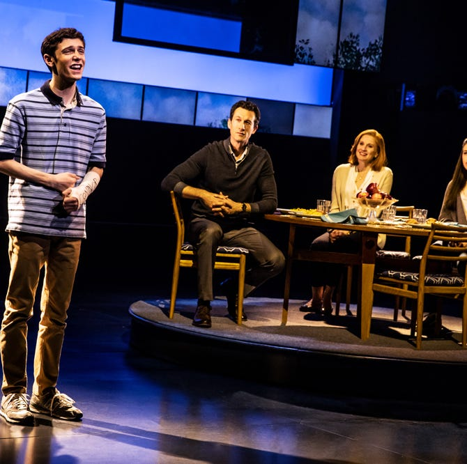 Broadway smash 'Dear Evan Hansen' broke a box office record in Des Moines