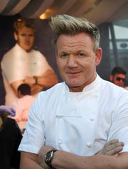 Chef and television personality Gordon Ramsay.