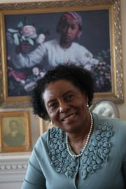 Gloria House of Detroit, photographed at her home in Detroit, Tuesday, Feb. 15, 2011. SUSAN TUSA\Detroit Free Press