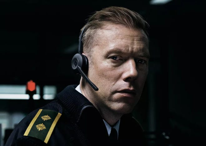 """Jakob Cedergren plays a police dispatch officer in the thriller """"The Guilty."""""""