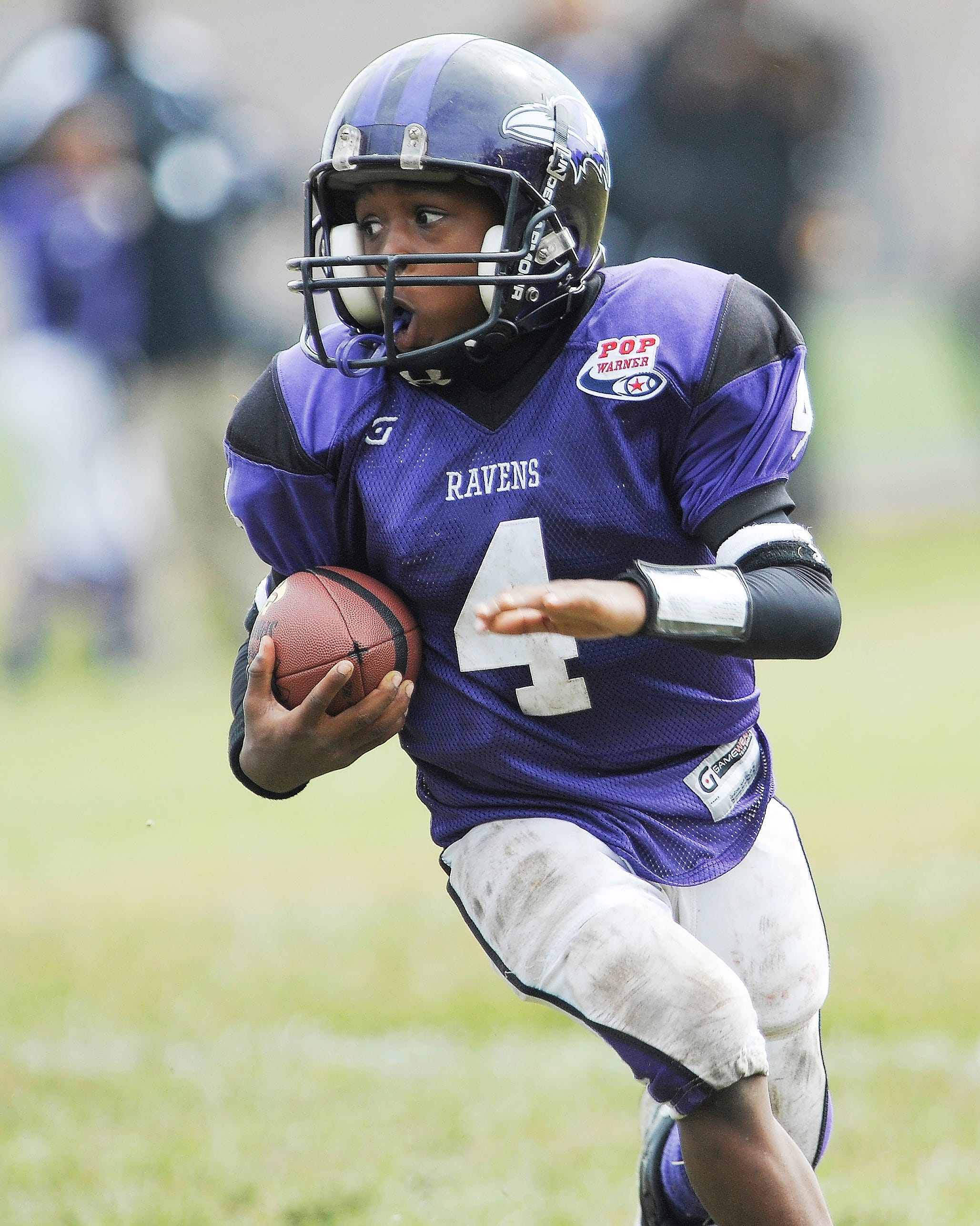 Even as a 9-year-old, Khalil Dawsey showed exceptional speed.