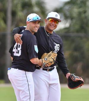 Matthew Boyd and Miguel Cabrera