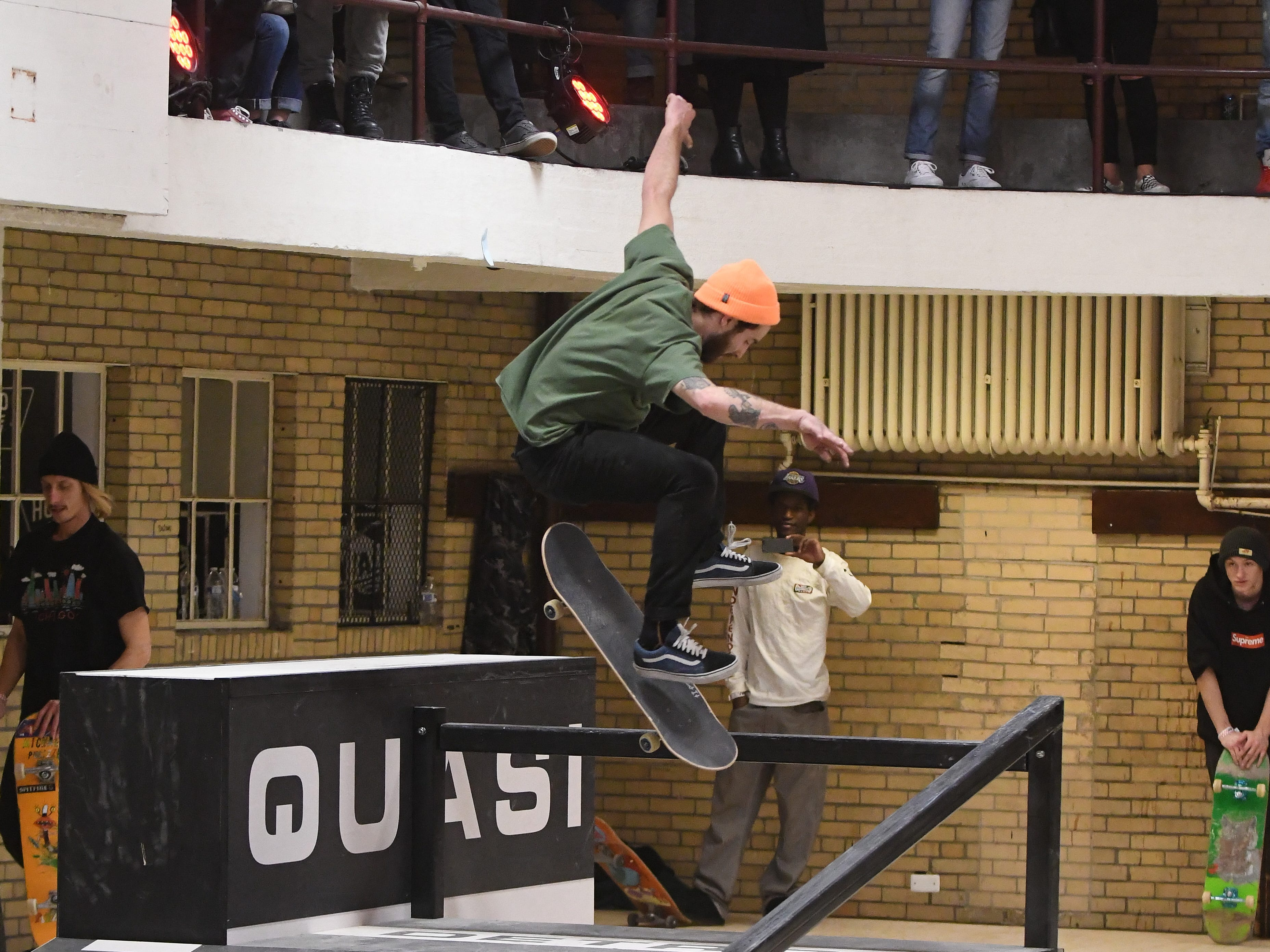 A skate park at the House of Vans pop-up.