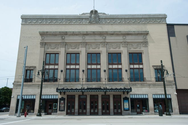 Detroit's Orchestra Hall.