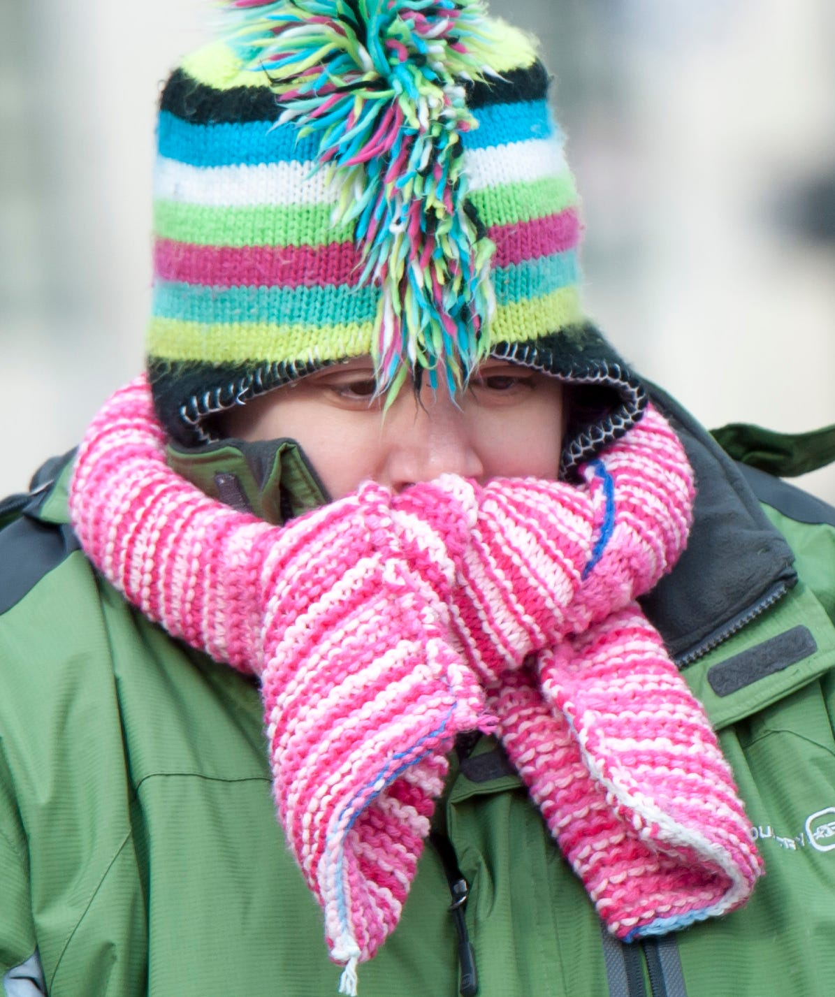Prepare to bundle up for the cold weather.