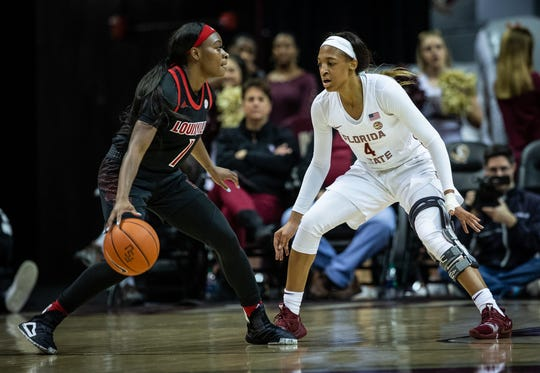 A large early deficit hampered the Florida State women's basketball team  during 68-49 loss to Lousville on Thursday night at Tucker Center.