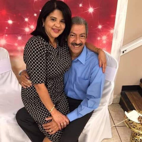 Marisol Lopez, shown with her husband Victor, was one five people killed in a shooting in a SunTrust Bank on Wednesday in Sebring, Florida. Lopez was a bank employee.