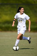 Wake Forest soccer player and Cypress Lake High graduate Caitlin Farrell.