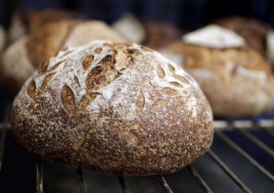 Voyageurs Sourdough's artisan bread is made with four ingredients: flour, water and salt and wild yeast starter. Specialty breads include sesame, cinnamon raisin maple and red turkey wheat.