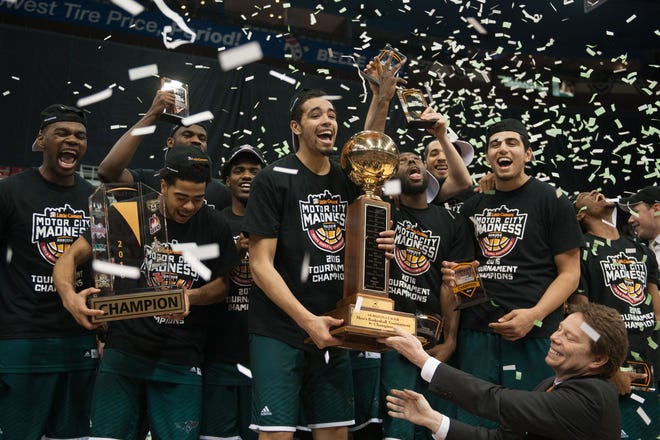 The Horizon League tournament is moving to Indianapolis next year.