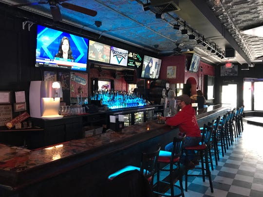 Rockabilly's Saloon owners Chris and Penny Knutson added TVs and new coolers along with other renovations before opening the new bar at 709 S. Broadway.