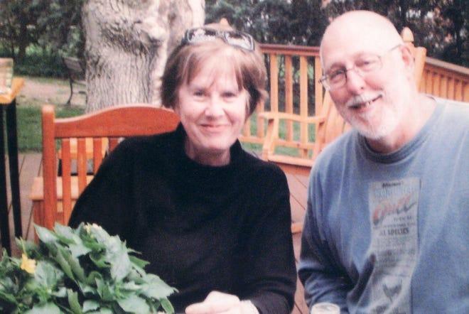 Former Green Bay Preble athletic director Colette Kolstad, left, and her husband, former Green Bay East AD Jerry Olbrich.