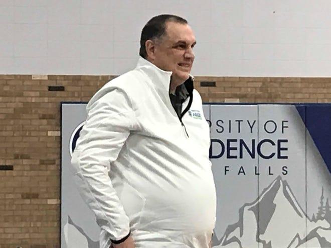 Providence head women's basketball coach Bill Himmelberg