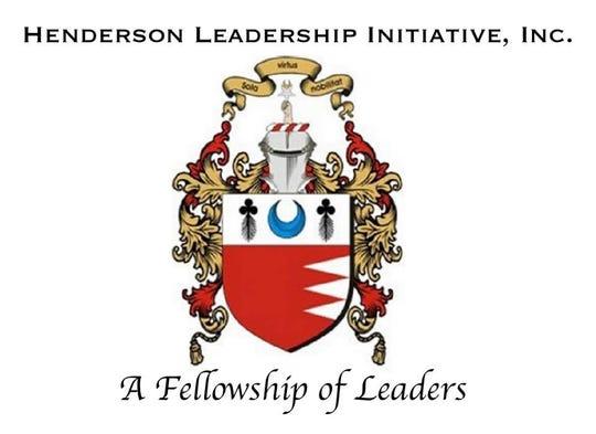 The Henderson Leadership Initiative shield