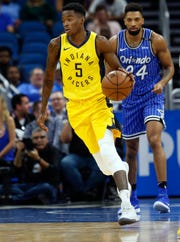 Edmond Sumner may provide depth on the Pacers bench.