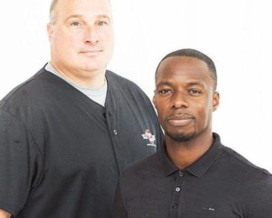 "Michael Grady (right) announced Friday he is leaving the ""Grady & Big Joe"" sports radio show on ESPN The Fan."