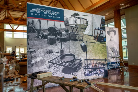 A new exhibit on the 1864 Battle of Fair Garden is set to open at the Sevierville Chamber of Commerce Visitor Center at 3 p.m. Monday, Jan. 28, just a day after the battle's 155 year anniversary.