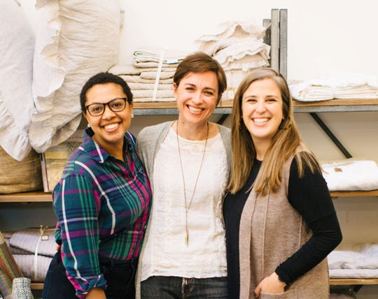 The Help You Dwell leadership team: Kellye Coleman, Taryn McLean, and Katie Martin.