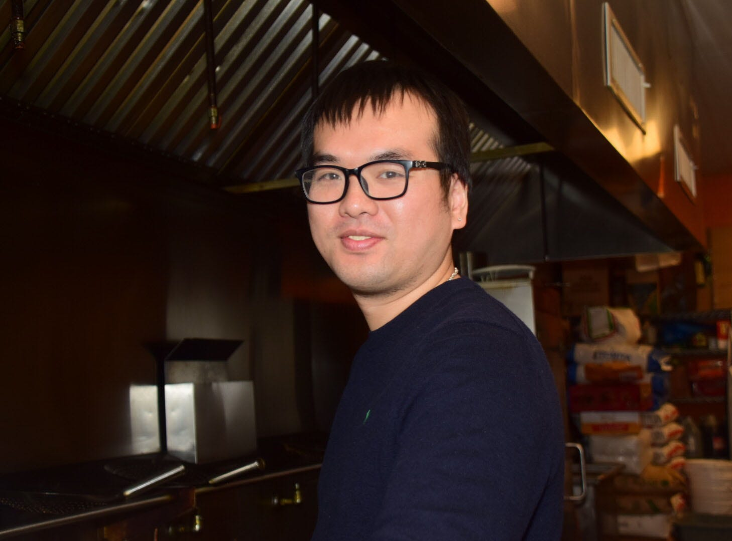 Chef Etan Dong cooks up Americanized Asian fare at Chef's Asian Cuisine Thursday, Jan. 24.
