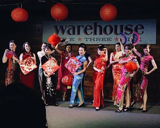 Preformance from last year's Lunar New Year festival