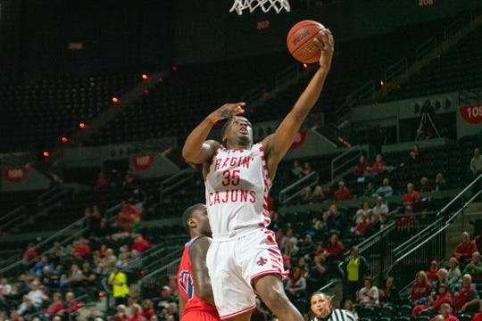 UL point guard Marcus Stroman takes the ball to the basket in last week's win over South Alabama.