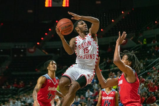 UL's P.J. Hardy contributed 18 points, four rebounds, three assists and three steals to the Cajuns' 88-84 win over South Alabama on Thursday at the Cajundome.