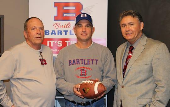 Lance Tucker is the new head football coach at Bartlett High