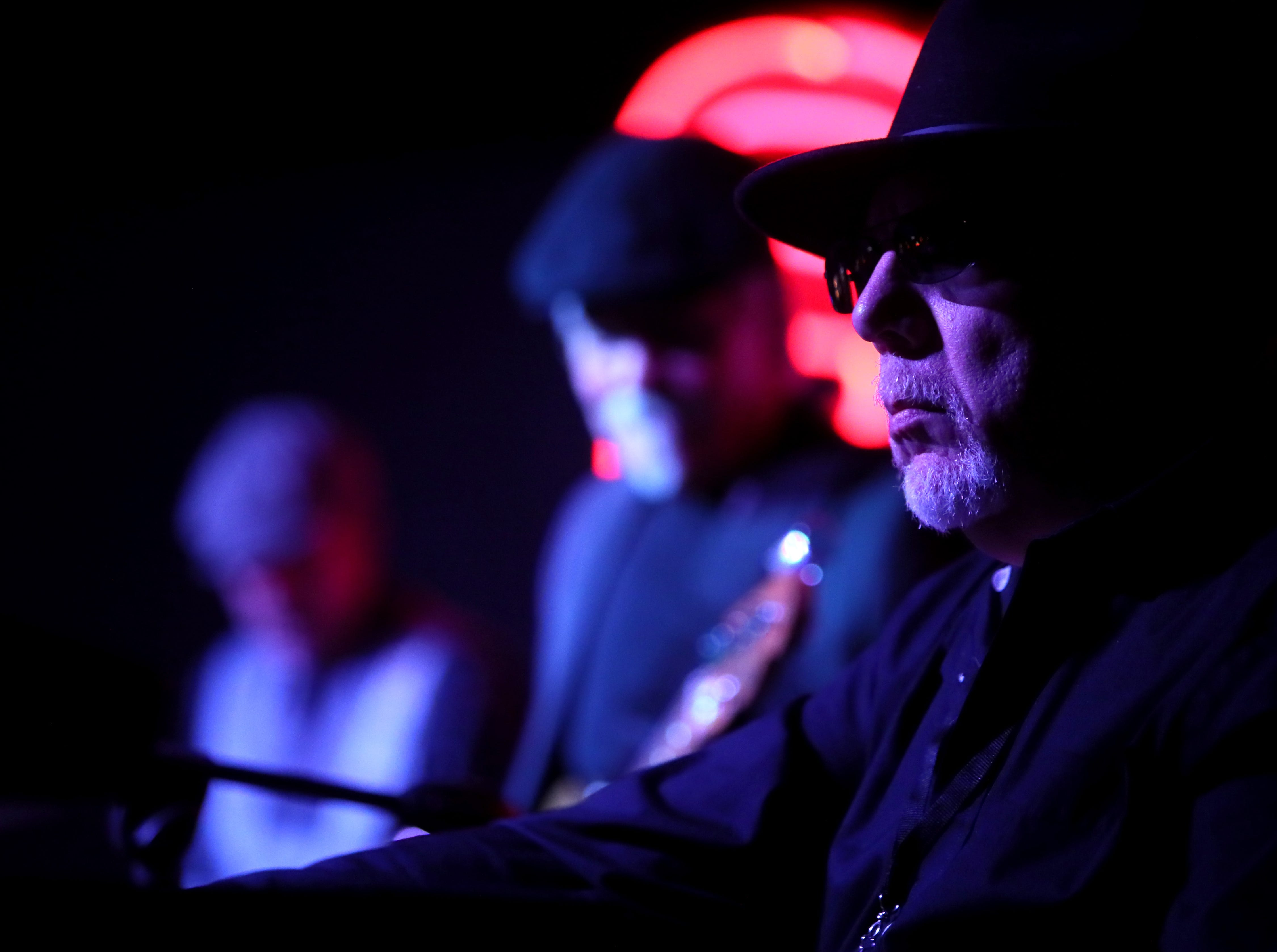 The Doug Hart Band plays at Alfred's during the 35th International Blues Challenge on Beale Street Thursday, Jan. 24, 2019.
