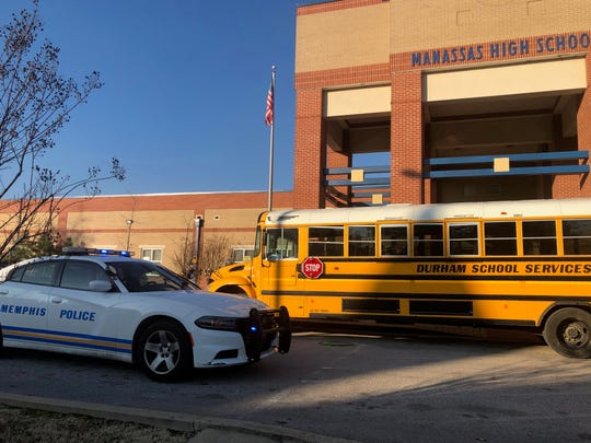 Manassas High School was on lockdown Friday, Jan 25, after a school bus driver  saw multiple individuals firing shots close to the school.