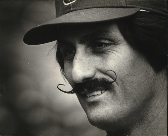 Pitcher Rollie Fingers was one of three key pieces brought over in a trade that helped put the Brewers in the 1981 and 1982 playoffs.