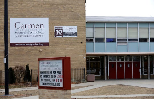 Carmen Middle/High School of Science & Technology, Northwest Campus.
